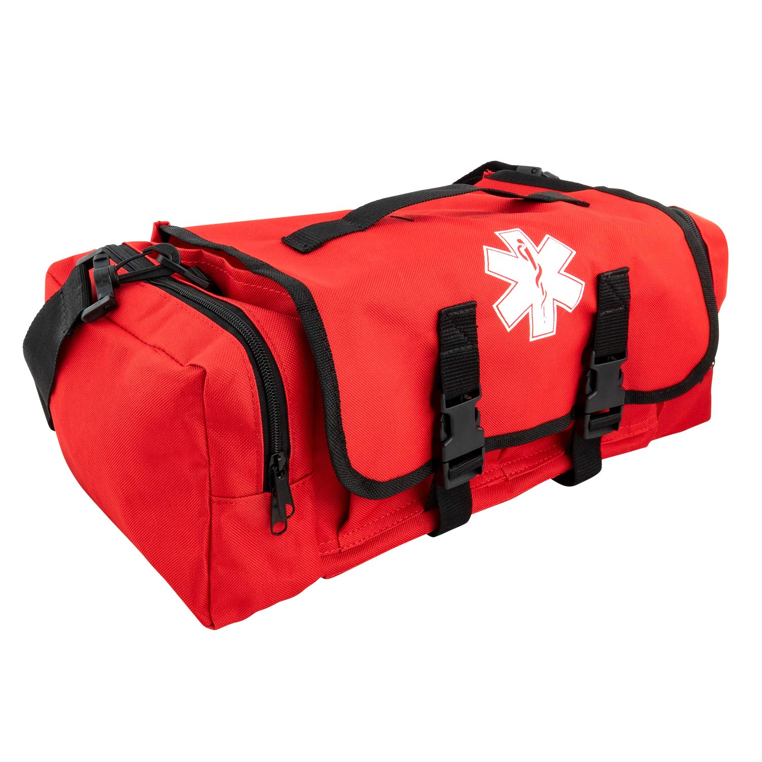 Emergency Fire First Responder Kit Fully Stocked Aid Rescue Trauma Bag Professional Liuard Ems Emt Paramedic Complete Medical Supplies